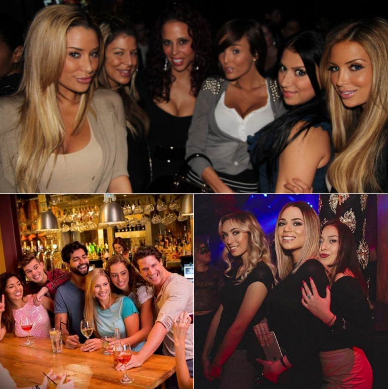 Canadian nightclubs to hook up with women