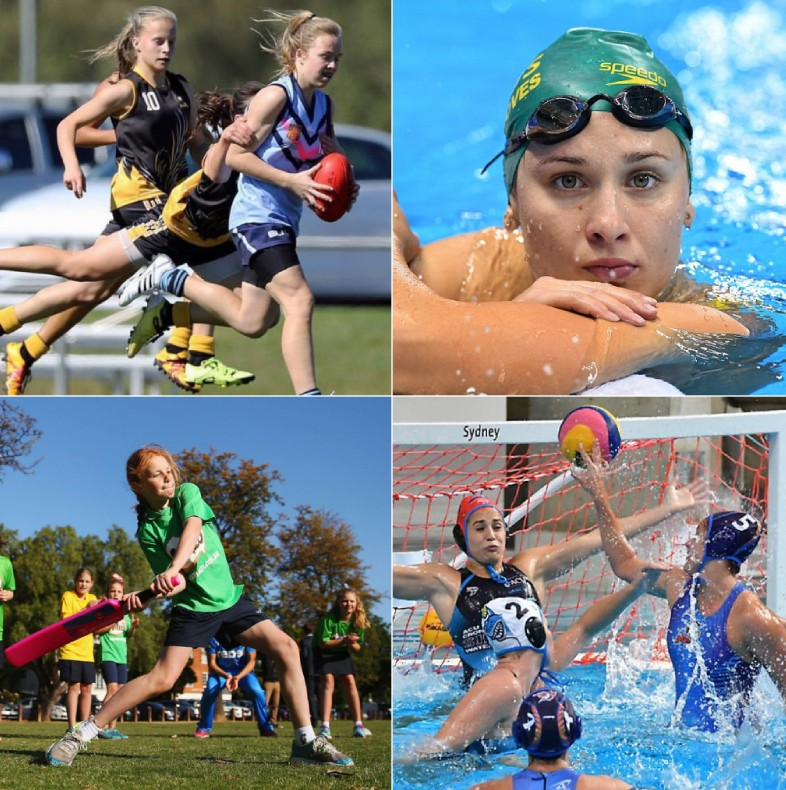 Australian girls' active lifestyle