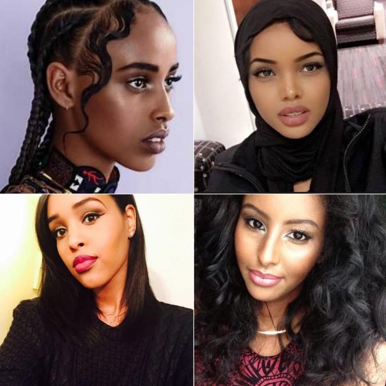 Attractive females from Somalia