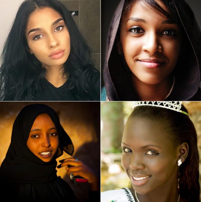 Attractive women from Sudan