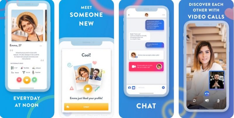 Once – an app to hook up and date