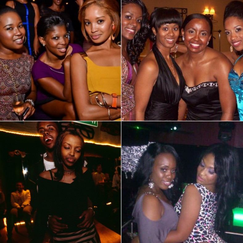 Somali girls as clubbers