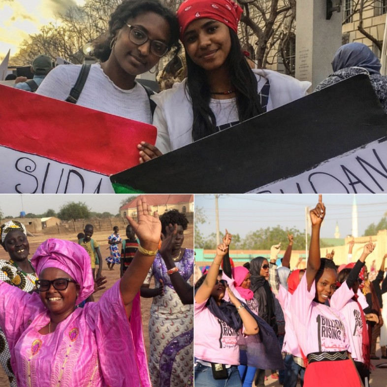 The active lifestyle of women in Sudan